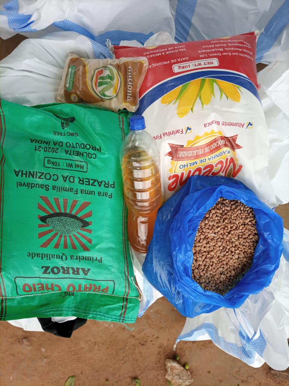 Preparação kits alimentares 8