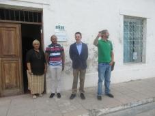 Embaixador da UE visita trabalho de valorização e conservação dos recursos naturais da Oikos na Ilha de Moçambique