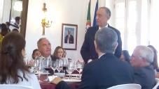 Presidente português Marcelo Rebelo de Sousa em visita a São Tomé e Príncipe: