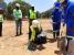 Foi lançada a primeira pedra para a construção de novas escolas em Moçambique resistentes a desastres naturais!