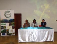Lançamento Público do projeto da Oikos FOR.BIO.STP em São Tomé e Príncipe