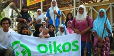 A ação da OIKOS na Indonésia - os resultados