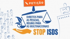 Assine a Petição STOP ISDS