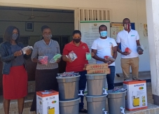 Lares mais seguros em Moçambique com entrega de material de protecção para COVID-19