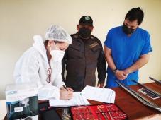 Postos de saúde de Centros Penitenciários nas Honduras recebem equipamentos médicos