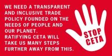Cerca de 450 organizações da sociedade civil europeia e canadiana clamam a rejeição do CETA aos grupos parlamentares