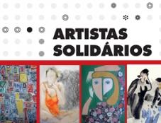 Já visitou a exposição Artistas Solidários?